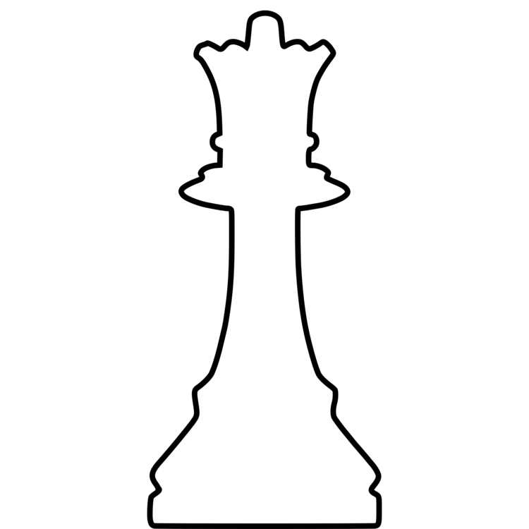 Drawing chess pieces. Piece king queen staunton