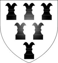 Drawing chess rook. Wikipedia arms of the