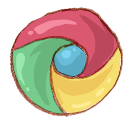 Drawing chrome clipart. Google watercolor icon png
