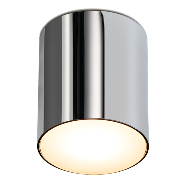 Drawing chrome cylinder. Fixed light ip dyke