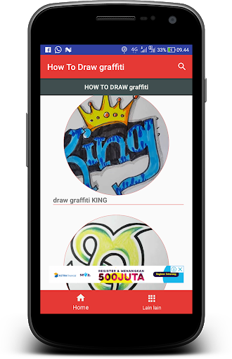 Drawing chrome graffito. How to draw graffiti