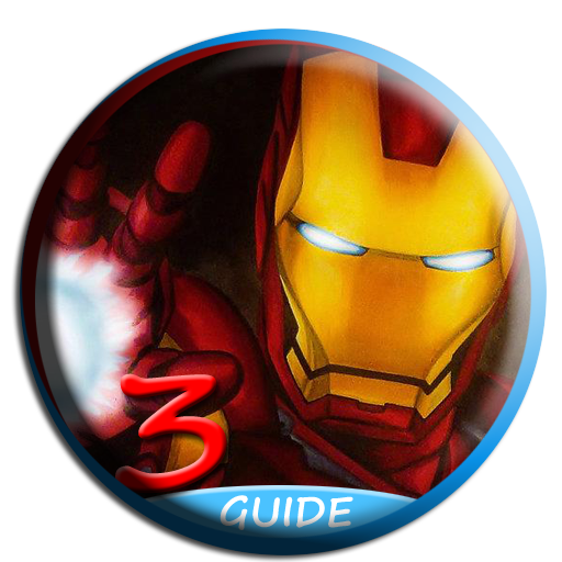 Drawing chrome iron man. Guide game for apk