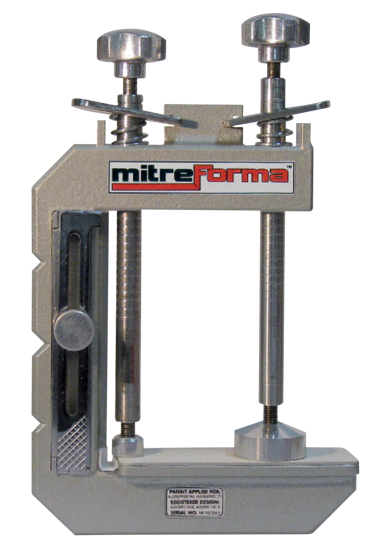 Drawing clamps miter. Mitre system integra adhesives