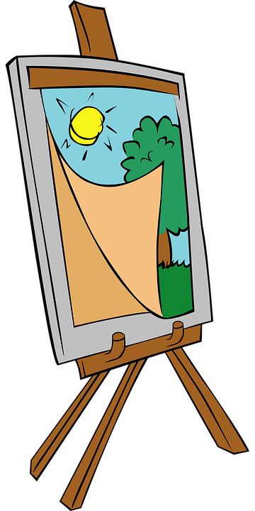 Drawing clip easel. Collection of free galleries