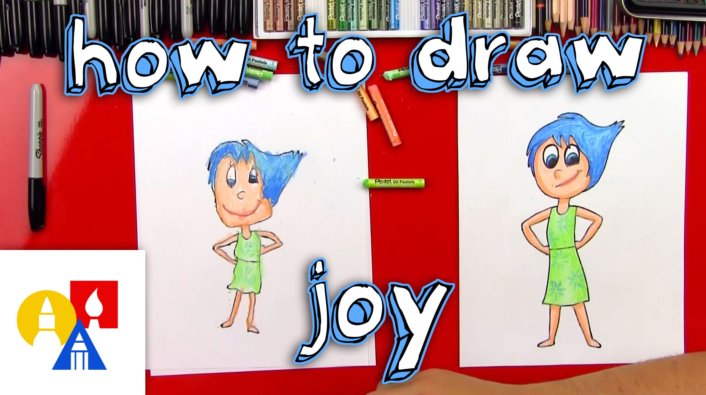 Drawing clipart art drawing. How to draw joy