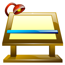 Drawing clipart drawing board. Icons iconshock drawingboardicon
