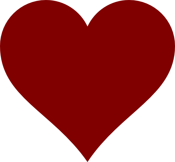 Drawing clipart heart. Free simple drawings download