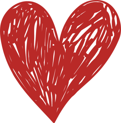 Drawing clipart heart.