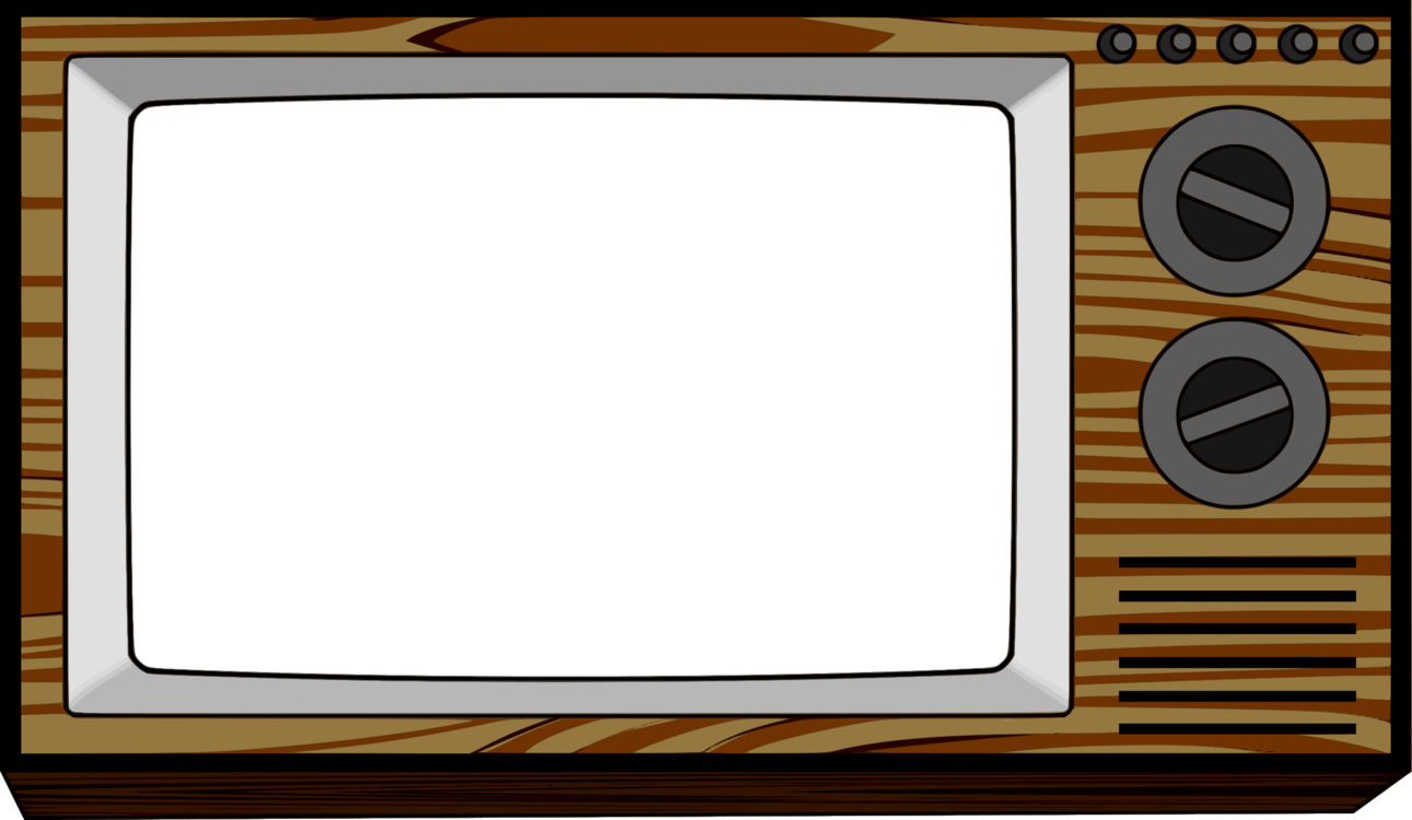 Drawing clipart show. Television set free to