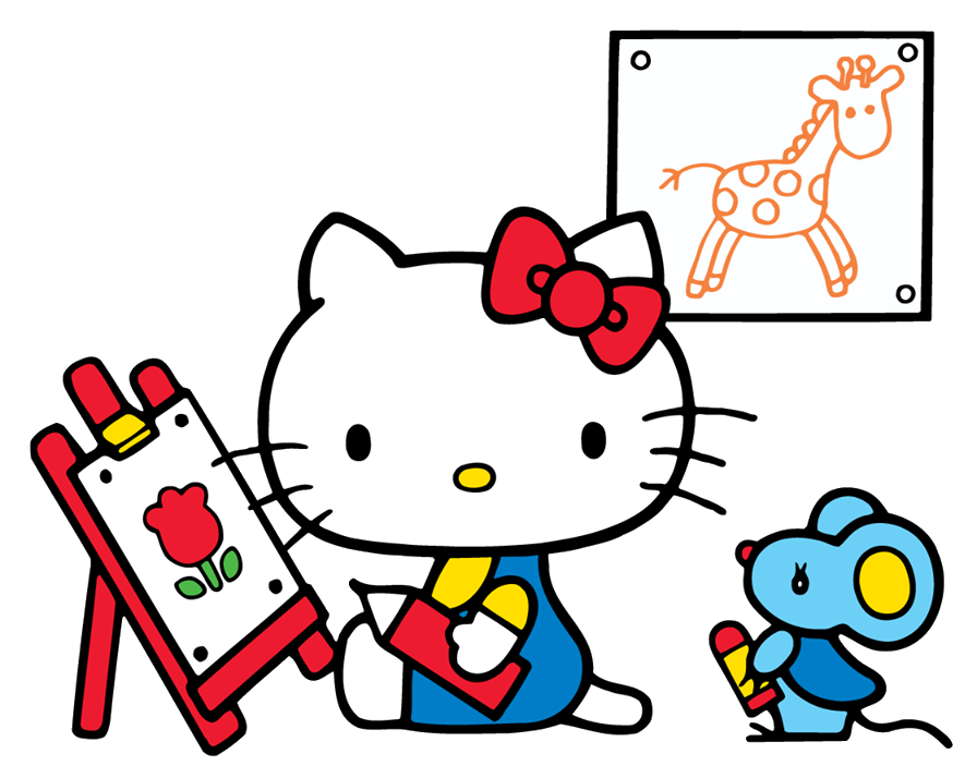 Drawing clipart transparent. Hello kitty png image
