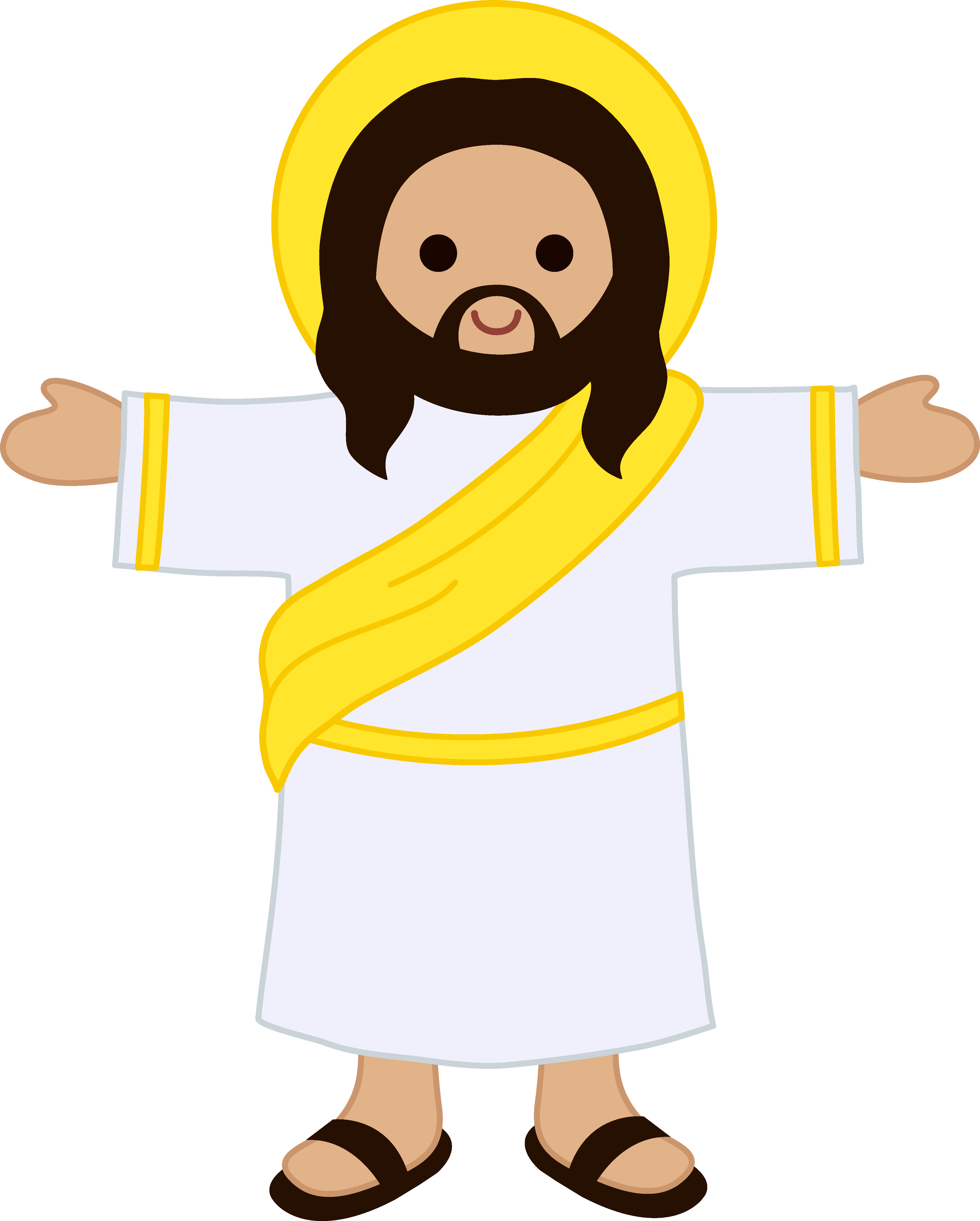 Jesus drawing at getdrawings. Transparent god cartoon picture freeuse download