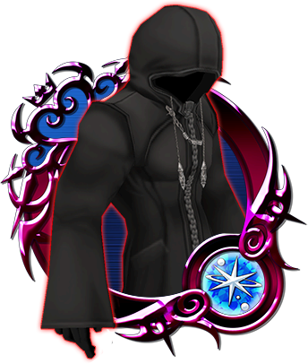 Drawing cloaks mysterious figure. Kingdom hearts unchained wiki
