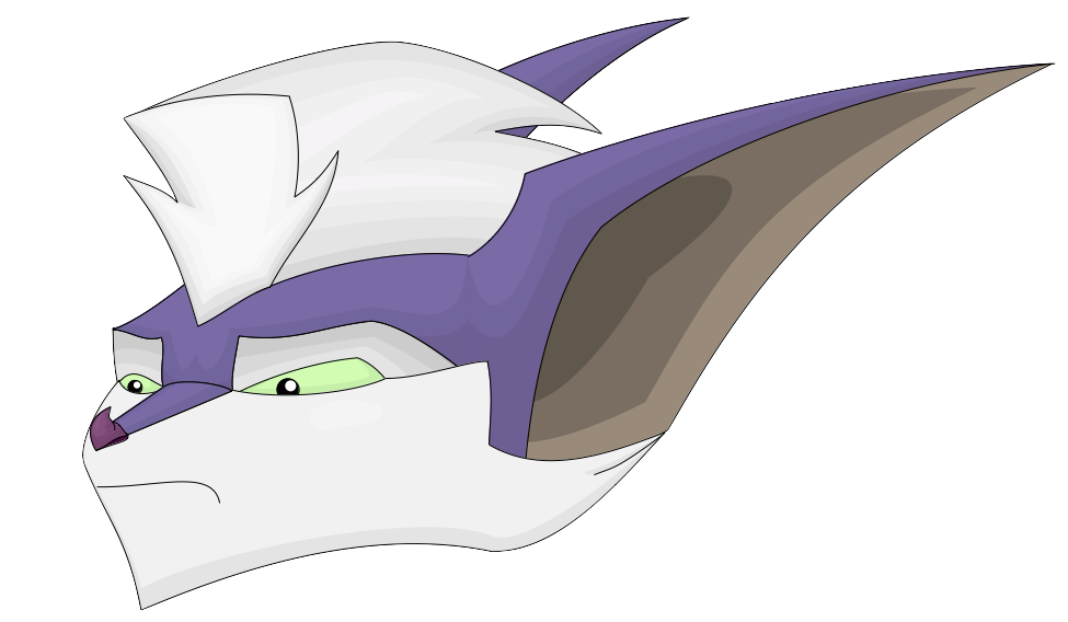 Drawing close. Isis silverwing remastered head