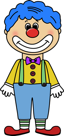 Drawing clowns friendly. Happy clown clipart at