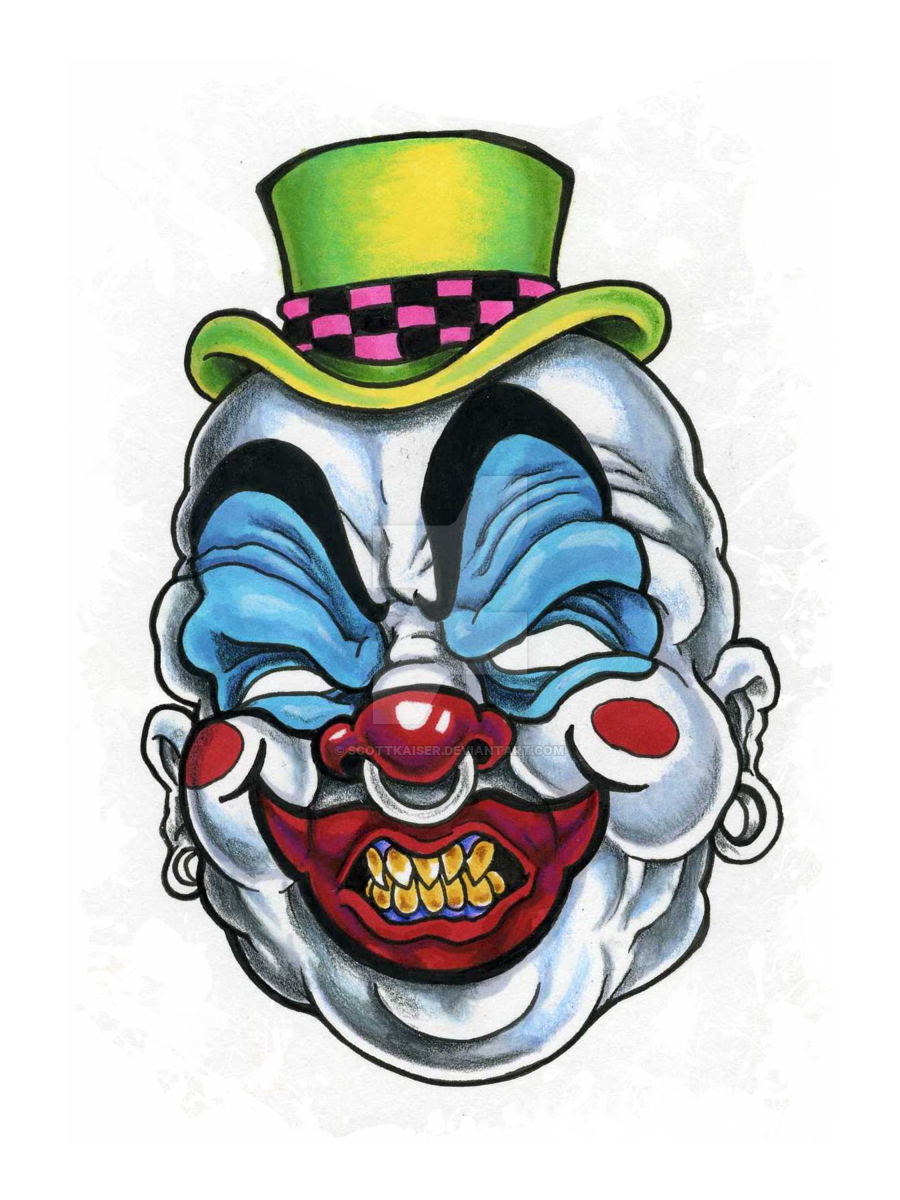 Killer by scottkaiser on. Clown clipart evil jester picture freeuse stock