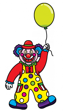 Drawing clowns kid. How to draw a