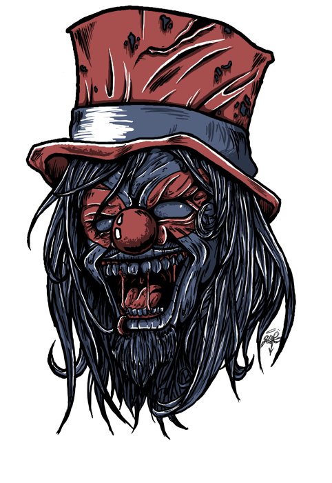 Drawing clowns wicked clown. V by poltart on