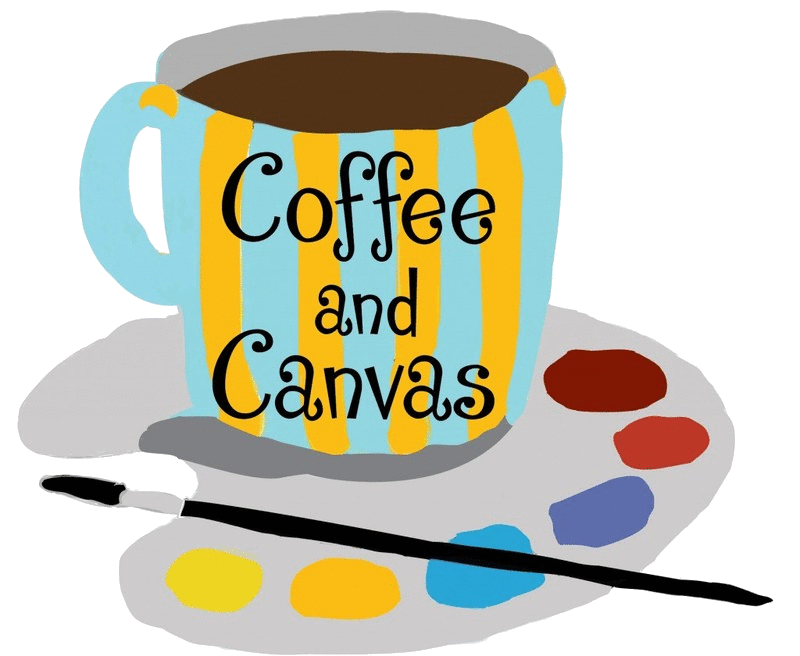 Drawing coffee canvas. And art classes workshops