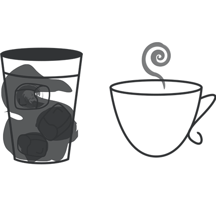 Drawing coffee cold. Smart valve brew maker
