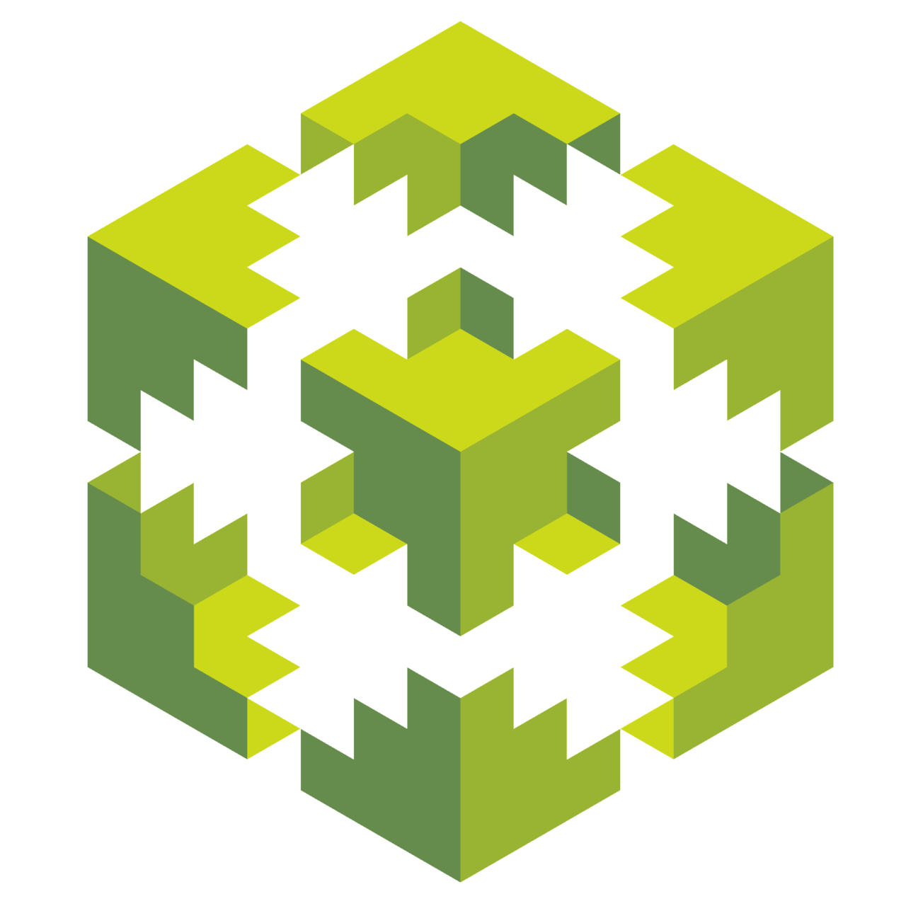 Drawing pentagon isometric. Made with patterns d
