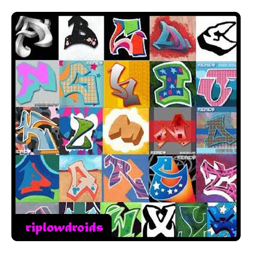 Drawing collages graffiti. Design ideas google playstore