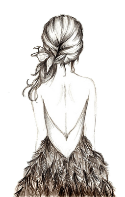 drawing collarbones fashion