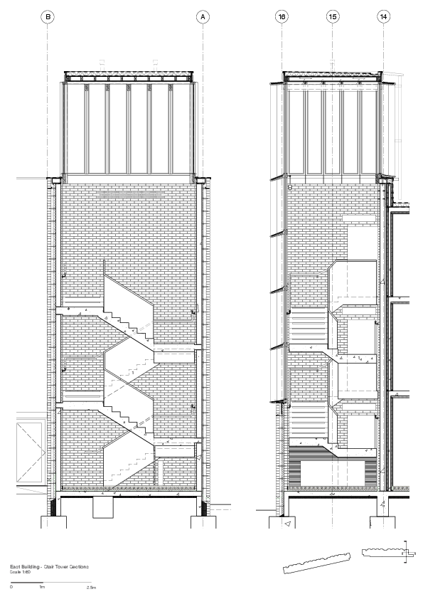 Presentation drawing housing. Gallery of student accommodation