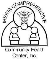 Drawing community healthy. Services iberia comprehensive logo