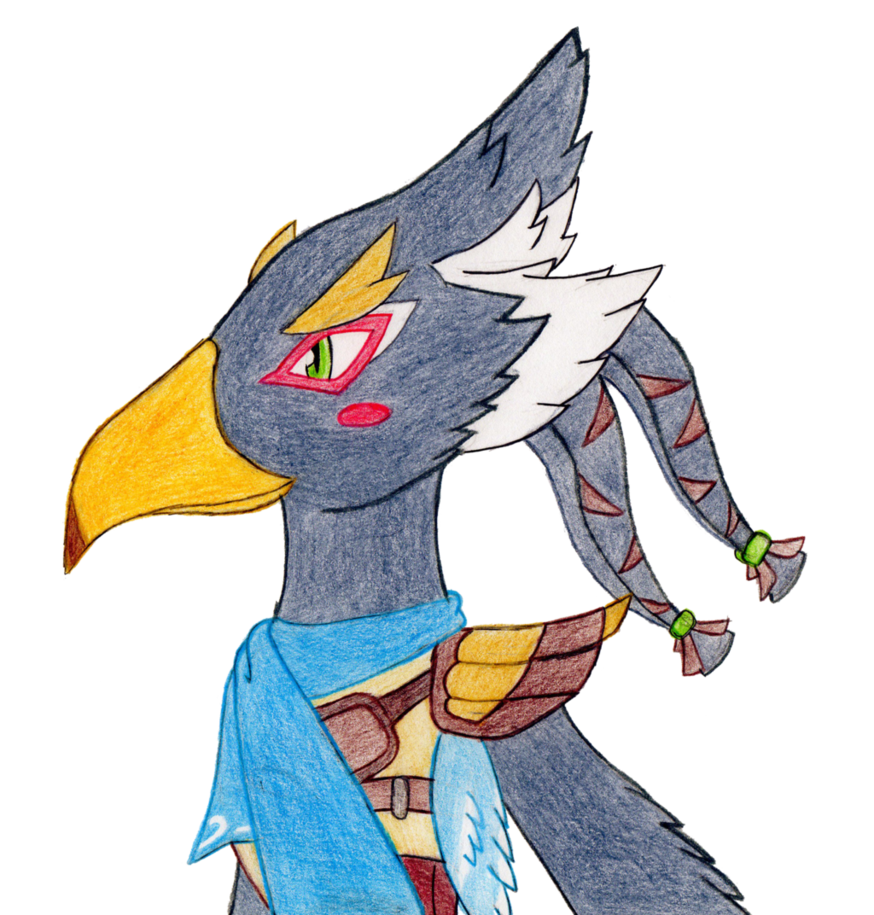Drawing comparisons animation. Revali doodle by sonicxjones