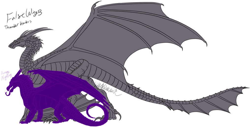 Drawing comparisons animatronic. Falsewings closed fantribe by