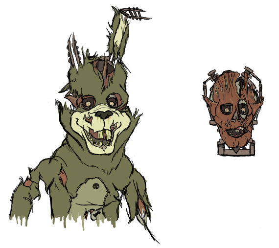 Drawing comparisons animatronic. What if scraptrap was