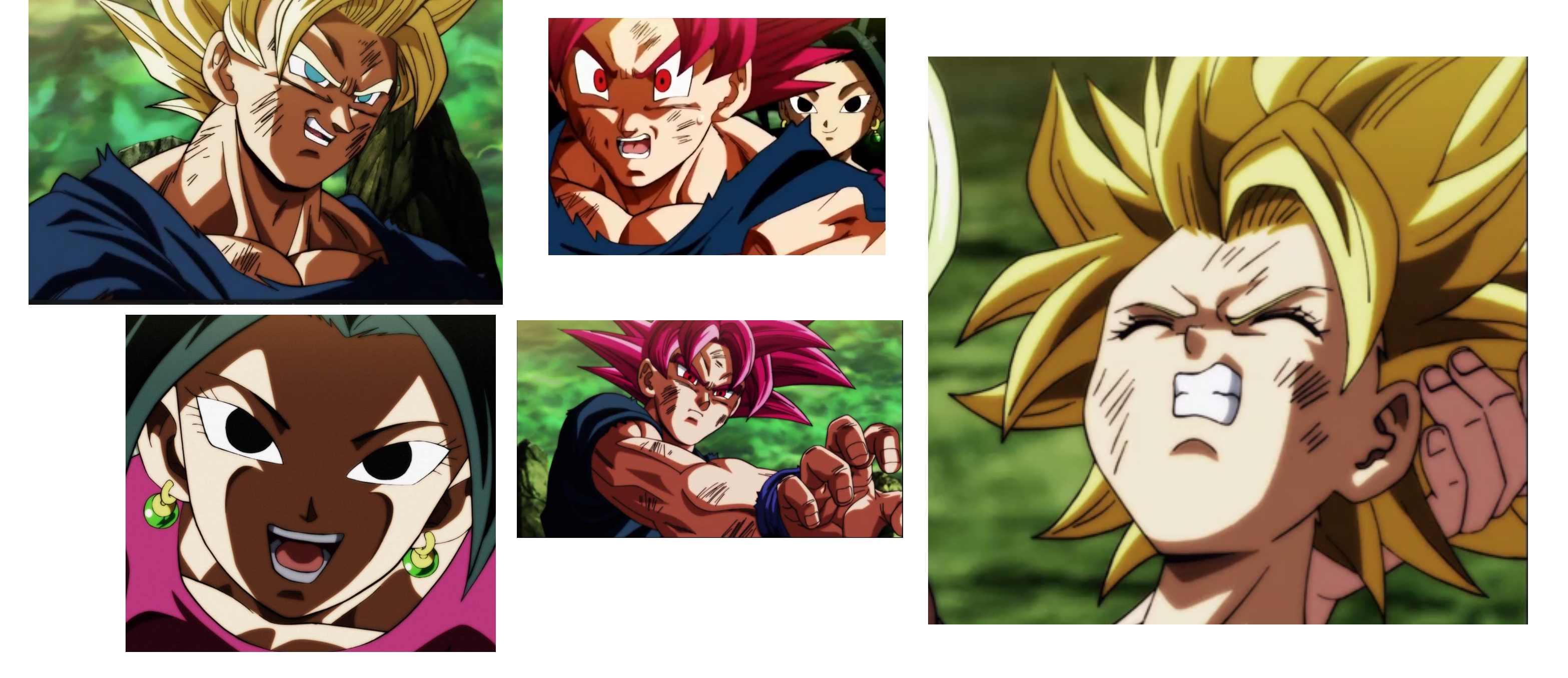 Drawing comparisons dragon ball z. What exactly do people