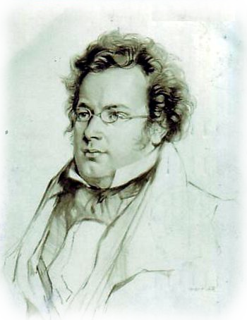 Drawing compositions self portrait. Franz schubert songs introduction