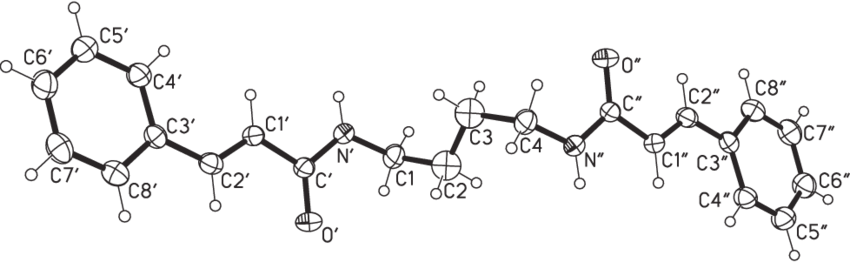 Drawing compound. Of the molecular structure