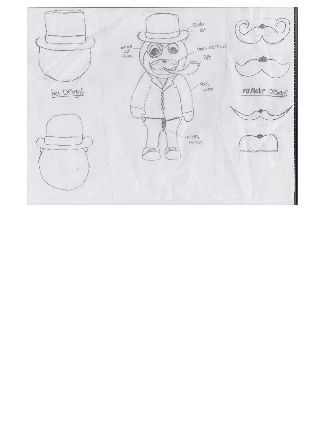 Drawing concept. Designs harry perry