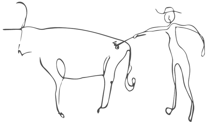 Drawing Cow Branding Transparent Clipart Free Download