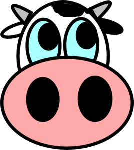 Drawing cow easy. Face to draw lerisha