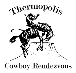 Western drawing rodeo. History of the thermopolis