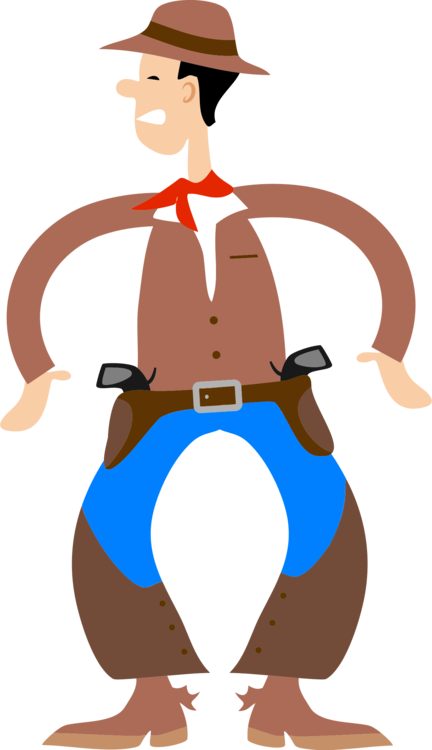 Drawing cowboys cartoon. Cowboy free commercial clipart