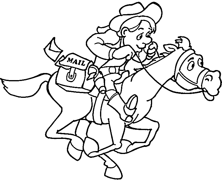 Drawing cowboys cute. At getdrawings com free