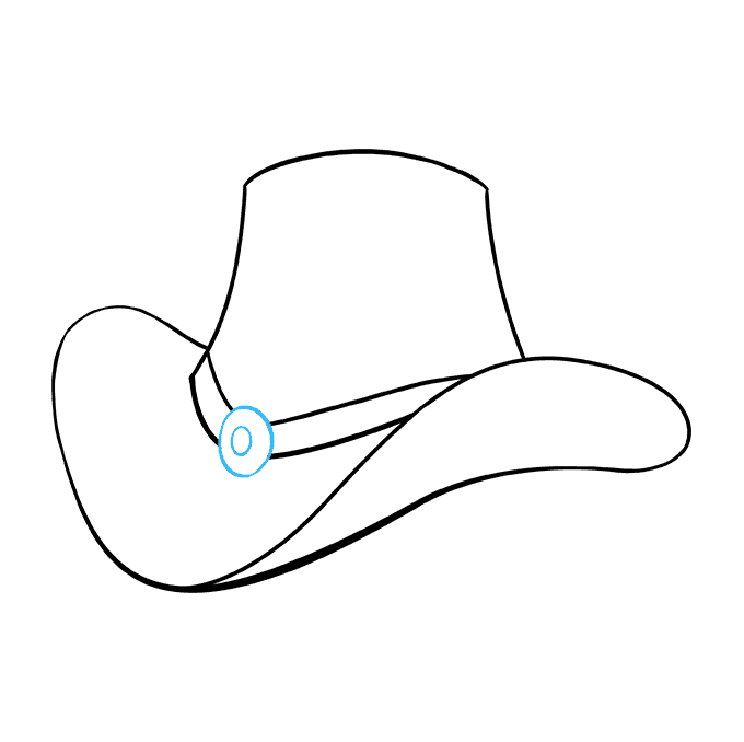 American drawing top hat. How to draw a