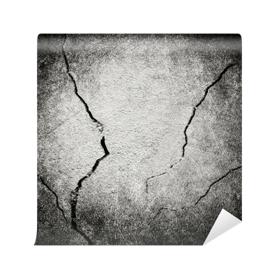 Drawing cracks wall. Cracked background mural pixers