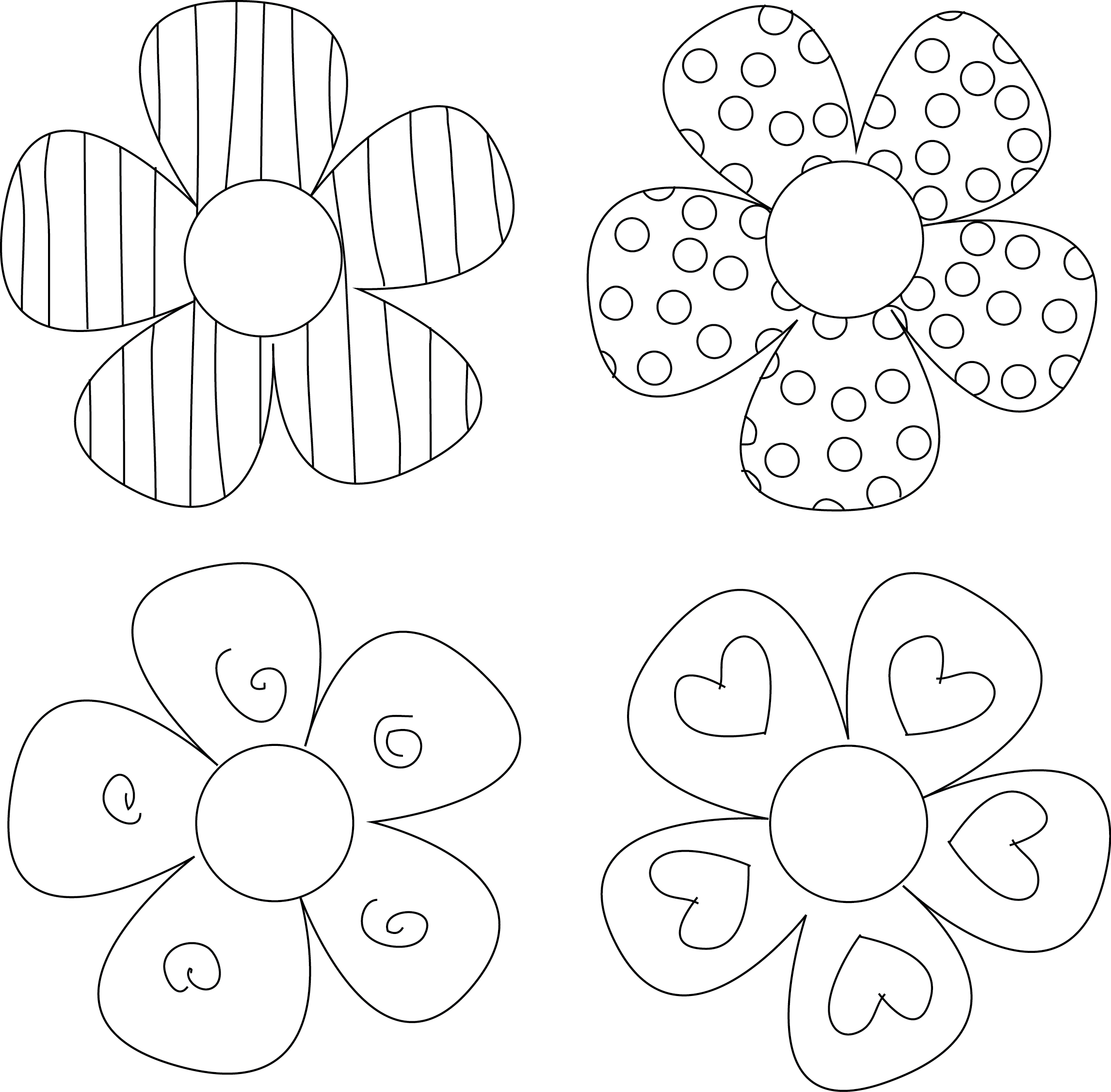 Drawing crafts simple flower design. Diy tutorials you must