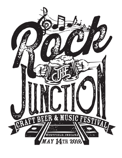 Drawing craft rock. The junction beer music