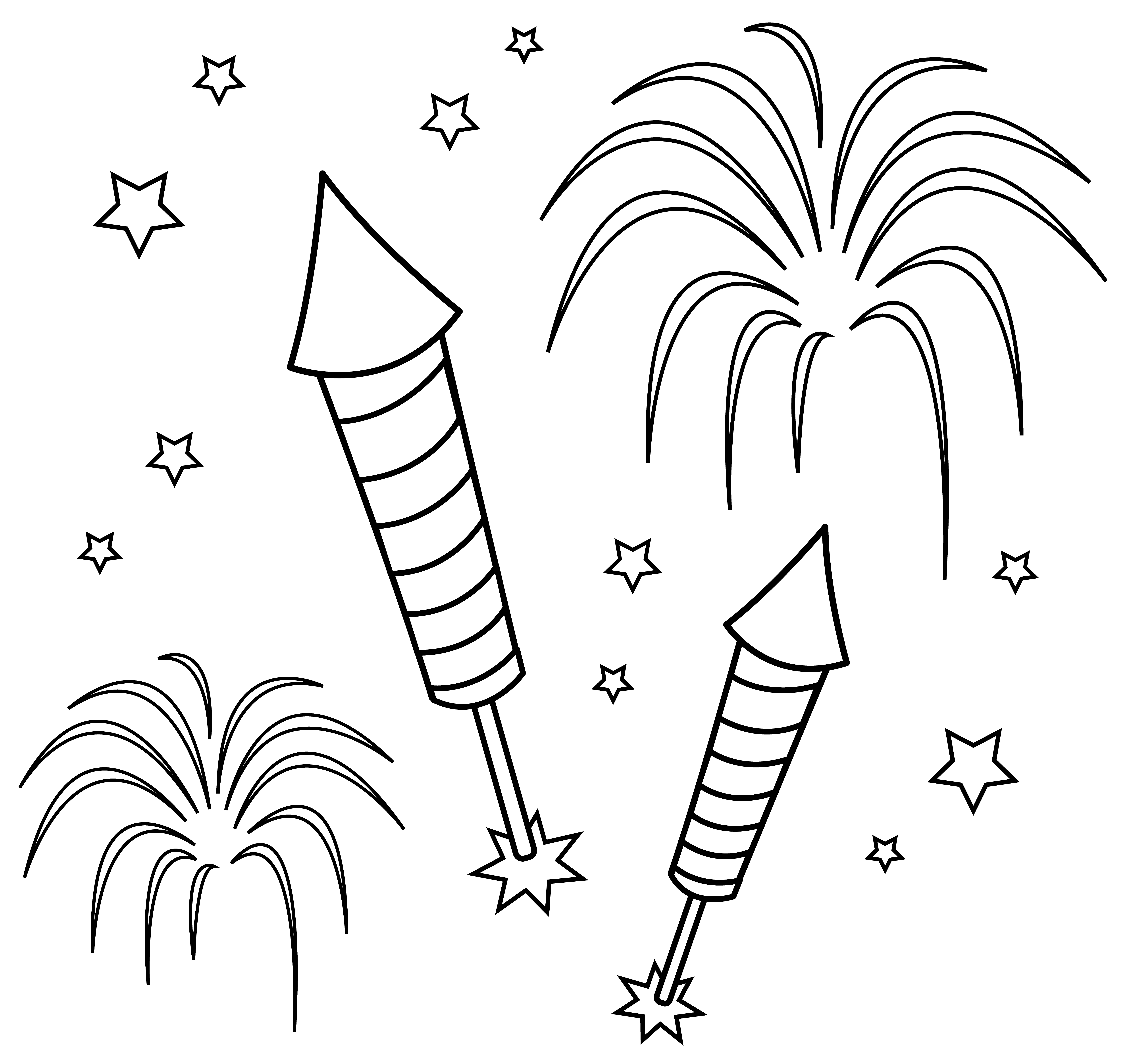 Drawing crafts firework. At getdrawings com free