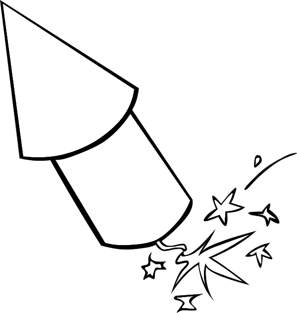 Drawing rockets clipart. Image result for firework
