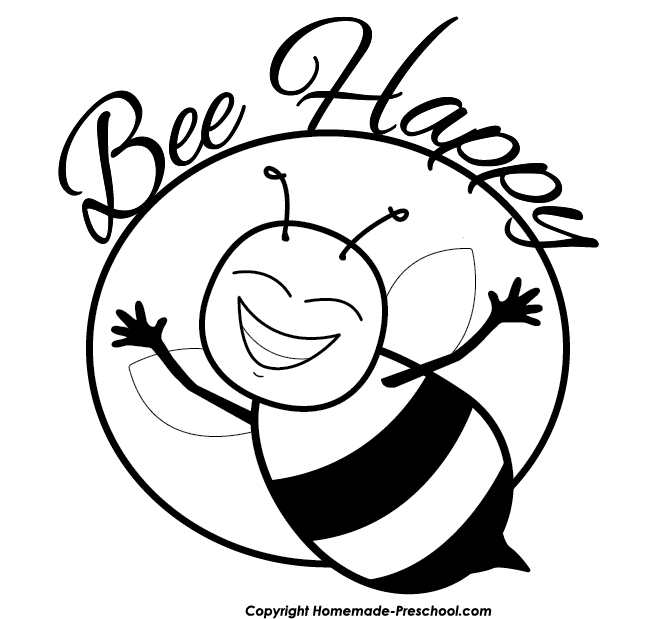 Rosh hashanah clipart. Free bee ready for