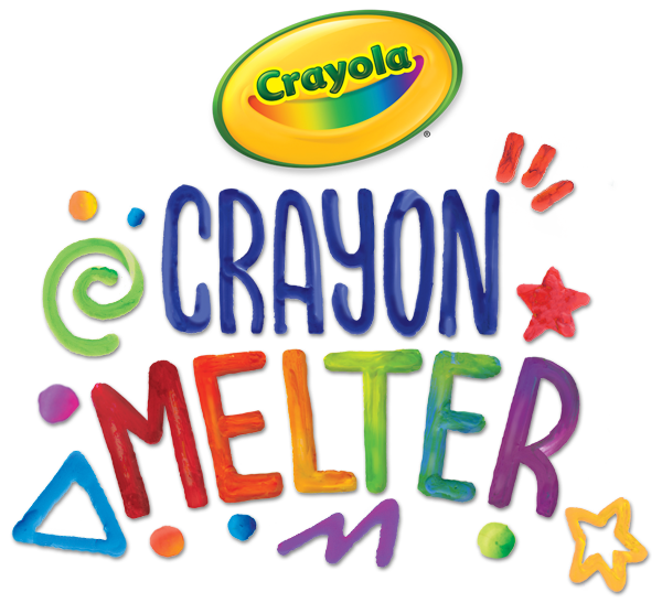 Drawing crafts melting crayon. Melted artwork redefined crayola