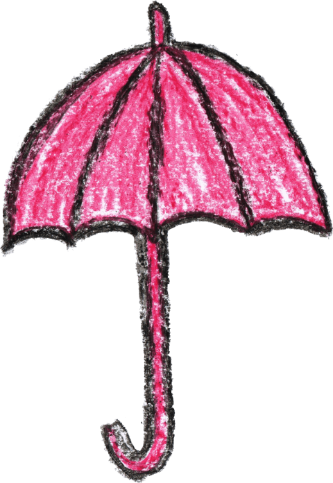 Drawing crayons. Crayon umbrella png free