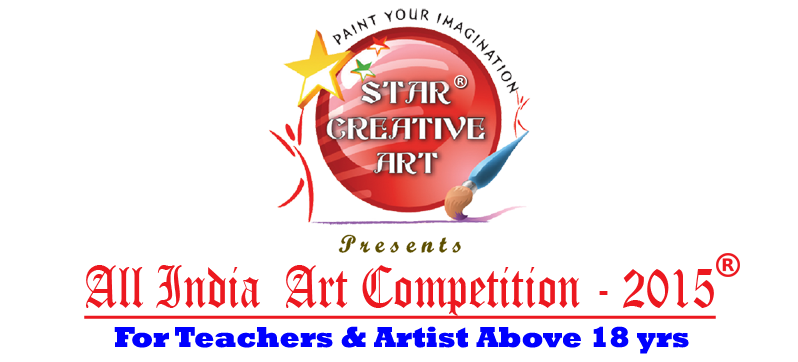 Drawing creativity competition. Star creative art st